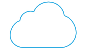 Cloud services based on an internal cellular modem